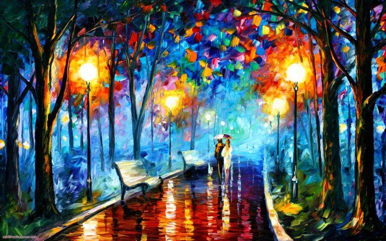 Importancia de la pintura en tu parque parques alegres i - Pintura metalizada pared ...