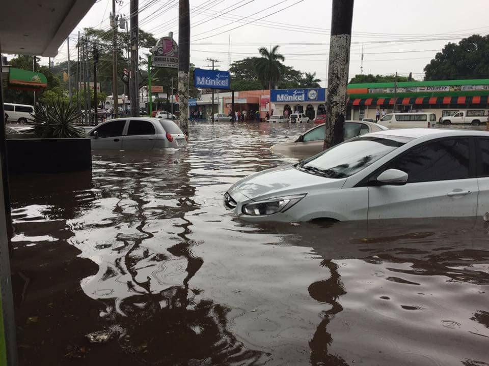 Inundaciones por temporada de lluvia