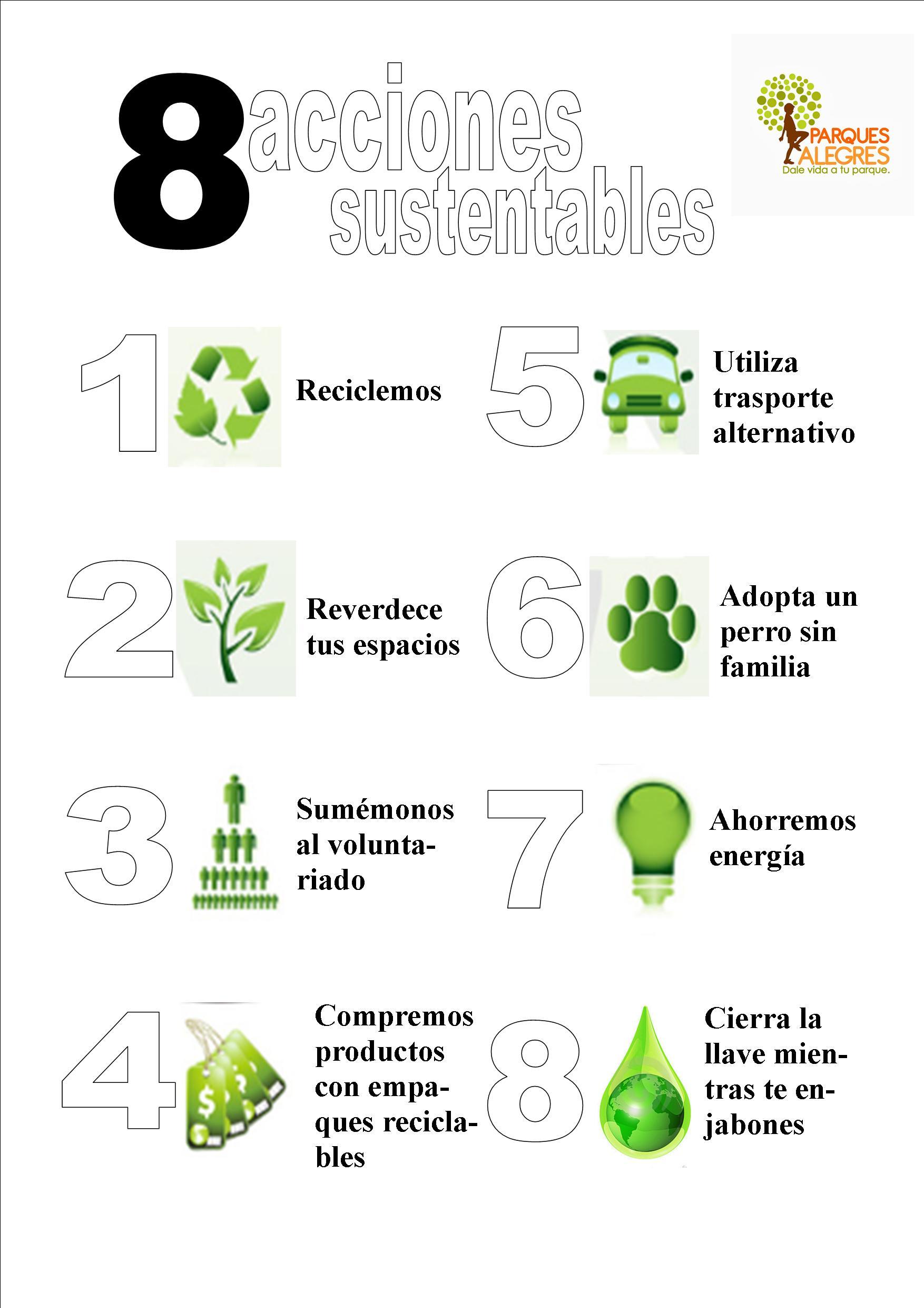 acciones sustentables