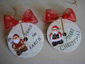 Decoracion navideña CD