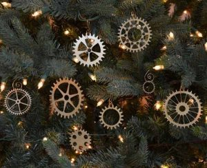 Decoracion navideña engranes