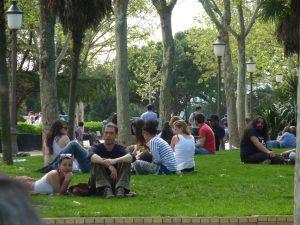 afluencia en tu parque