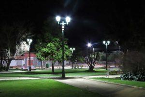 alumbrado público y urbano