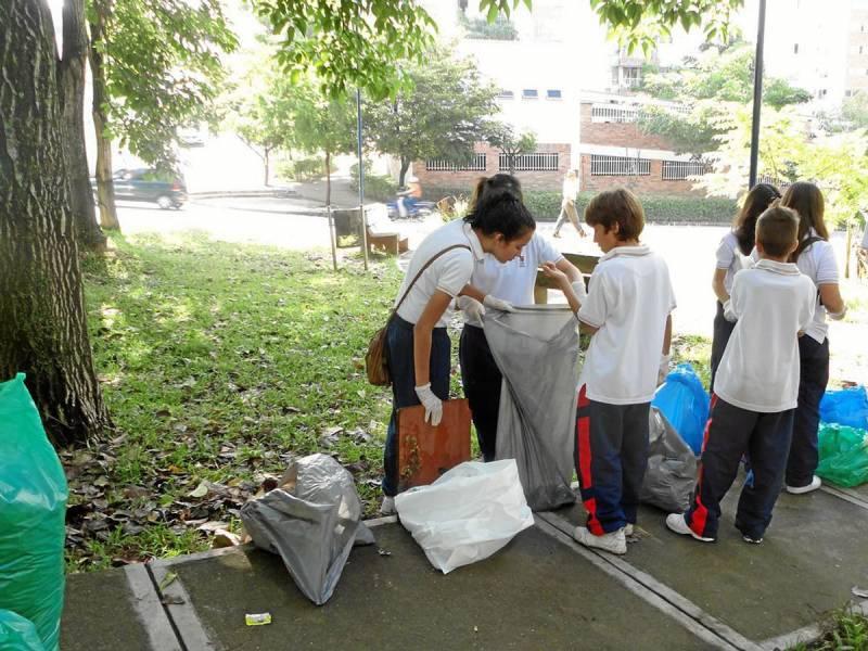 Limpieza de parques