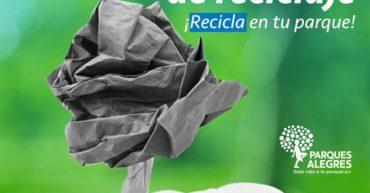 Programa de Reciclaje en tu Parque