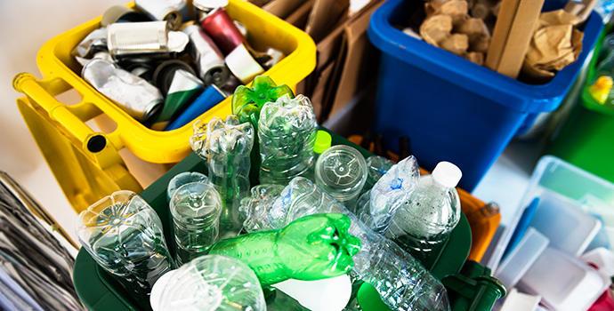 reciclar por colores