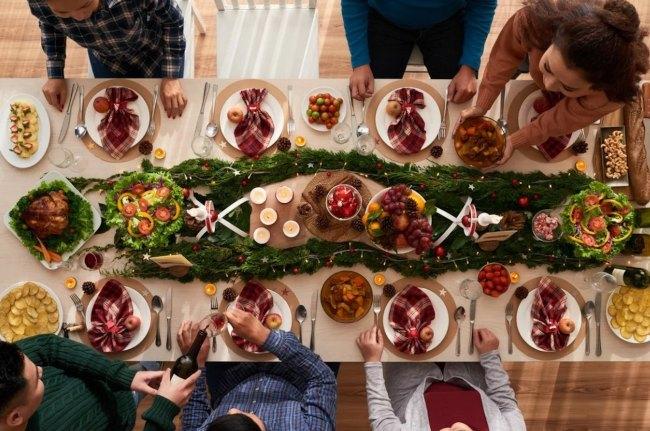 Cena para Año Nuevo