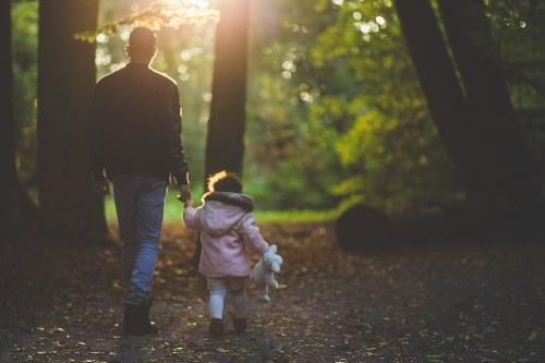 actividades al aire libre con papa