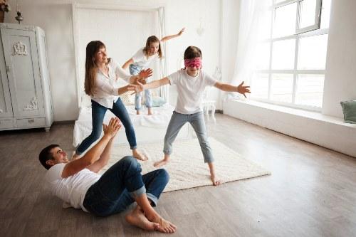 juegos recreativos en casa