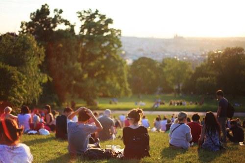 los parques y la felicidad